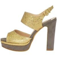 Schuhe Damen Sandalen / Sandaletten Silvana 769 Sandalen Frau Gold Gold