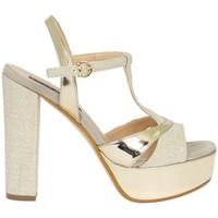 Schuhe Damen Sandalen / Sandaletten Silvana 709 Sandelholz Frau Platin Platin