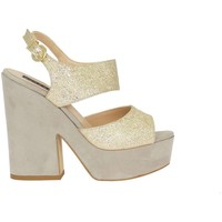 Schuhe Damen Sandalen / Sandaletten Silvana 769/t90 Sandalen Frau beige beige