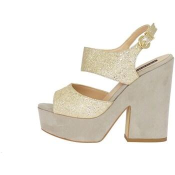Schuhe Damen Sandalen / Sandaletten Silvana 769/t90 Sandelholz Frau beige beige