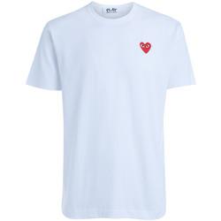 Kleidung Damen T-Shirts Comme Des Garcons T-shirt  runder Halsausschnitt Weiß Weiss