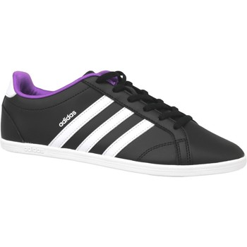 Schuhe Damen Sneaker adidas Originals Vs Coneo Qt W B74551 Black,White