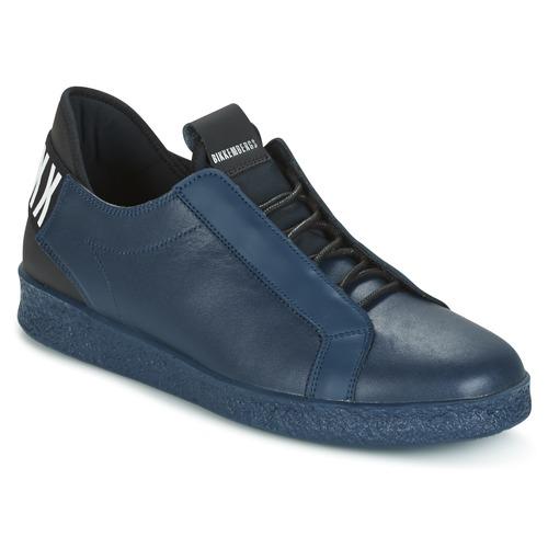 Bikkembergs BEST 873 Blau  Schuhe Sneaker Low Herren 148