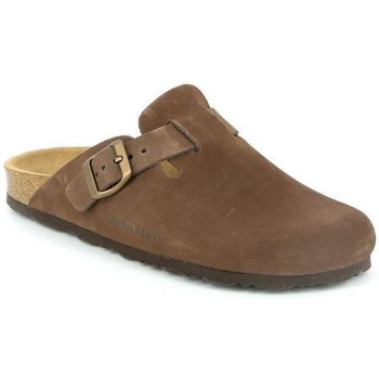 Schuhe Damen Pantoffel Grunland DSG-CB7018 MARRONE