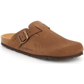 Schuhe Herren Pantoletten / Clogs Grunland DSG-CB7033 MARRONE