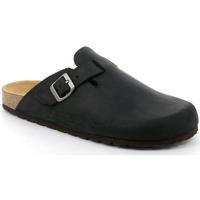 Schuhe Herren Pantoletten / Clogs Grunland DSG-CB7034 NERO