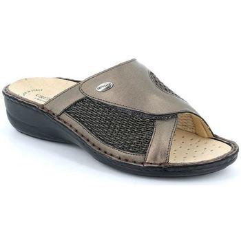 Schuhe Damen Pantoffel Grunland DSG-CE0084 ARGENTO