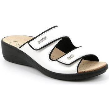 Schuhe Damen Pantoffel Grunland DSG-CE0186 ARGENTO