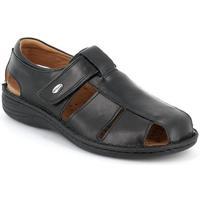 Schuhe Herren Sandalen / Sandaletten Grunland DSG-SE0015 NERO