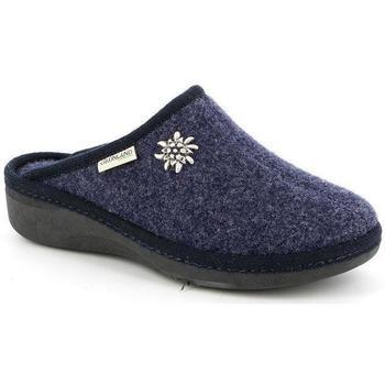 Schuhe Damen Hausschuhe Grunland DSG-CI0938 BLU