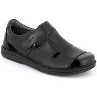 Schuhe Herren Sandalen / Sandaletten Grunland SUNDALEN MAN P. NERO