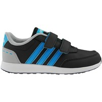 Schuhe Kinder Sneaker Low adidas Originals VS Switch 20 Cmf C Schwarz-Grau-Blau