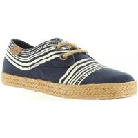 Schuhe Kinder Leinen-Pantoletten mit gefloch Pepe jeans PBS10069 BAHATI Azul