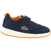 Schuhe Kinder Sneaker Lacoste 33SPC1005 LIGHT DT7 DK TRQS-NVY Azul