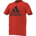 Kleidung Jungen T-Shirts adidas Performance Tee-shirt Junior Rot