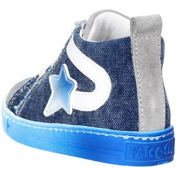 Schuhe Kinder Sneaker Low Falcotto 0012010936.07.9161 Blau/Grau