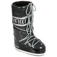 Schuhe Damen Schneestiefel Moon Boot MOON BOOT STARRY Schwarz / Weiss