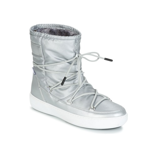 Moon Boot MOON BOOT PULSE NYLON PLUS WP Silbern Schuhe Boots Damen 75
