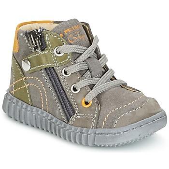 Schuhe Jungen Boots Primigi PSM 8028 Grau