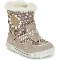 Schuhe Mädchen Boots Primigi TITI-E GORE-TEX Beige