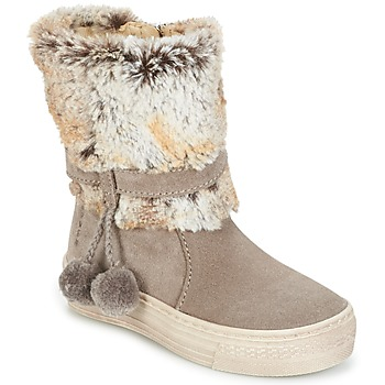 Schuhe Mädchen Boots Primigi PSA 8164 Grau / Rose