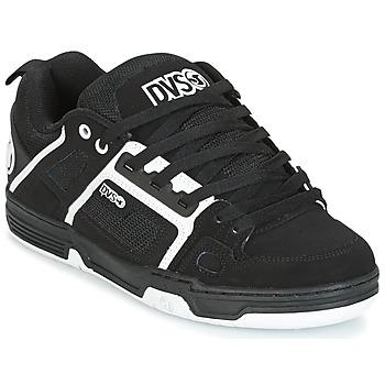 Schuhe Herren Sneaker Low DVS COMANCHE Schwarz / Weiss