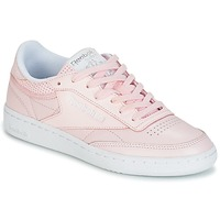 Schuhe Damen Sneaker Low Reebok Classic CLUB C 85 FBT Rose
