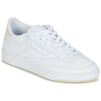 Schuhe Damen Sneaker Low Reebok Classic CLUB C 85 L THR Weiss