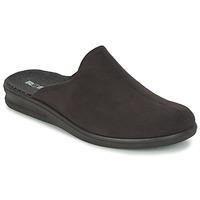 Schuhe Herren Hausschuhe Romika PRASIDENT 445 Schwarz