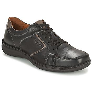 Schuhe Herren Derby-Schuhe Josef Seibel ANVERS 49 Schwarz