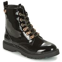 Schuhe Damen Boots Kaporal SANGOAN Schwarz