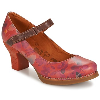 Schuhe Damen Pumps Art HARLEM Rot
