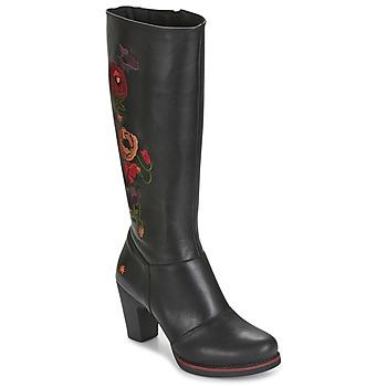 Schuhe Damen Klassische Stiefel Art GRAN-VIA Schwarz