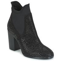 Schuhe Damen Low Boots Café Noir JORDE Schwarz