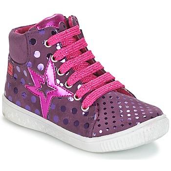 Schuhe Mädchen Sneaker High Agatha Ruiz de la Prada FLOW Violett