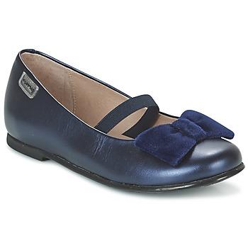 Schuhe Mädchen Ballerinas Garvalin GARDEN Blau