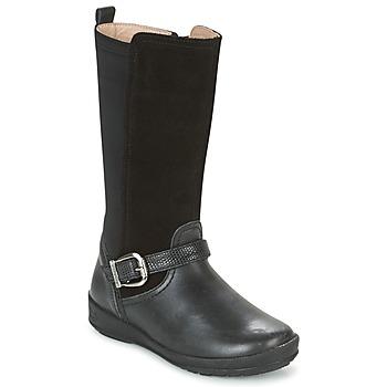 Schuhe Mädchen Klassische Stiefel Garvalin NEW FLORES Schwarz