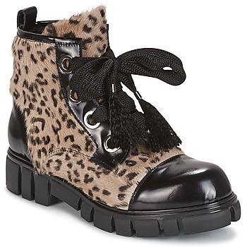 Schuhe Damen Boots Now ARRABIATA Schwarz