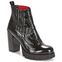 Schuhe Damen Low Boots Now NAPLAK Schwarz