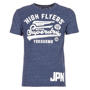 Kleidung Herren T-Shirts Superdry HIGH FLYERS REWORKED Marine