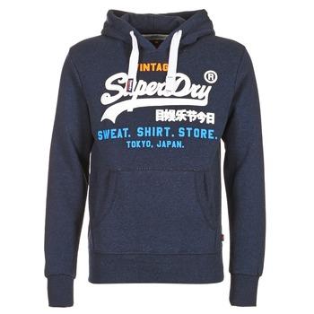 Kleidung Herren Sweatshirts Superdry SHIRT STORE TRI Marine