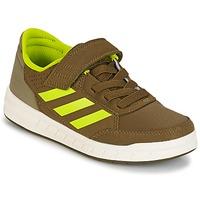 Schuhe Jungen Sneaker Low adidas Performance ALTASPORT EL K Kaki / Gelb