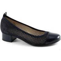 Schuhe Damen Ballerinas Pregunta PRE-E17-PO21656-BL Blu