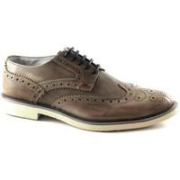 Schuhe Herren Richelieu Café Noir CAF-E17-RB112-273 Beige