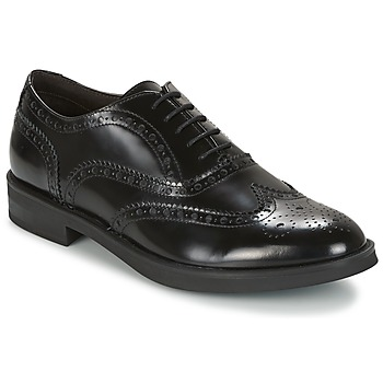 Schuhe Herren Derby-Schuhe Stonefly CLASS II 2 BRUSH OFF Schwarz