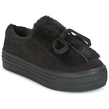 Schuhe Damen Sneaker Low Coolway PLUTON Schwarz