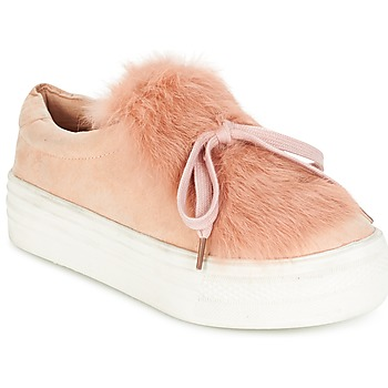Schuhe Damen Sneaker Low Coolway PLUTON Rose