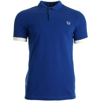 Kleidung Herren T-Shirts & Poloshirts Fred Perry Taped Pique Shirt Regal