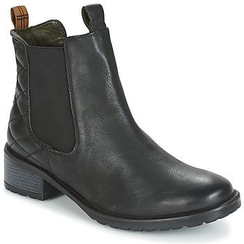 Schuhe Damen Low Boots Barbour LATIMER Schwarz