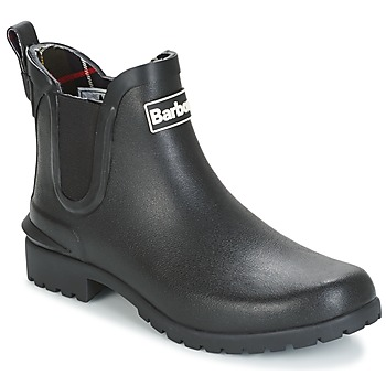 Schuhe Damen Gummistiefel Barbour WILTON Schwarz
